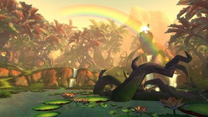 rainbow over gorgrond