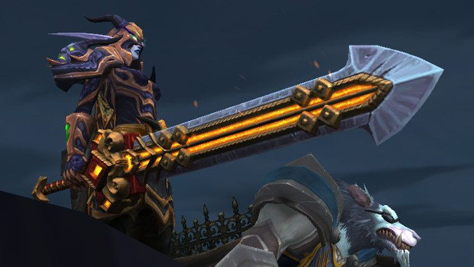 The Warrior's Charge: Arms and more Warrior changes on the 7 2 5 PTR