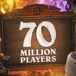Free Hearthstone packs to celebrate 70 million players