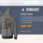 JINX making Overwatch character themed hoodies
