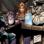 Knights of the Frozen Throne comic series is full of tall tales about our favorite heroes
