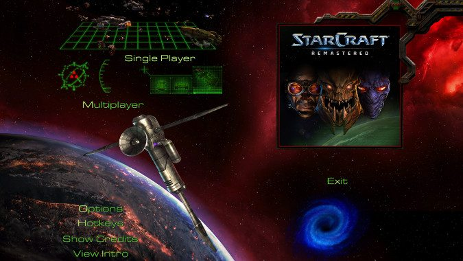 how to look at starcraft remastered