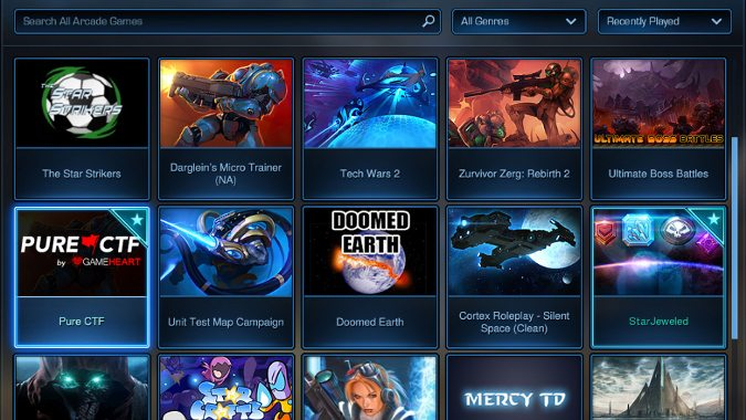 StarCraft 2 previews patch 3 19's Arcade and custom game