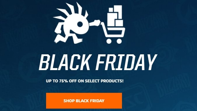 overwatch legion and more discounts from blizzard s black friday