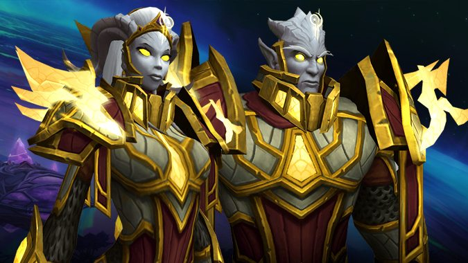 Lightsworn: What races can be Paladins in Battle for Azeroth?