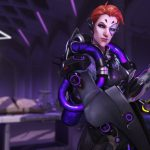 Moira's skins, emotes, intros, and victory poses