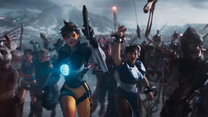 f08acfda3937 Tracer joins the pop culture elite in new Ready Player One trailer