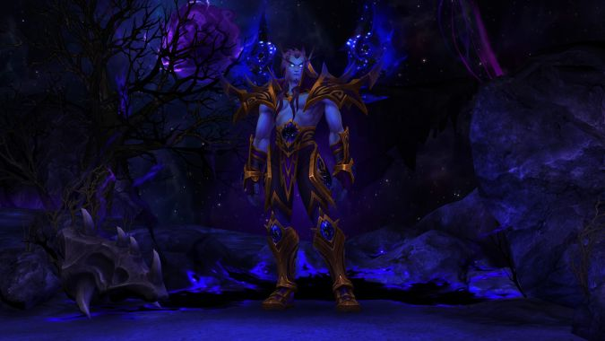 Is Heritage Armor Enough To Make You Fully Level An Allied Race Or is this just some photoshop? level an allied race