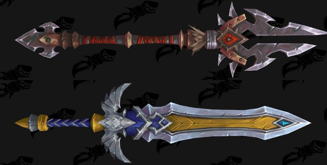 New Battle for Azeroth weapons will make for great transmog