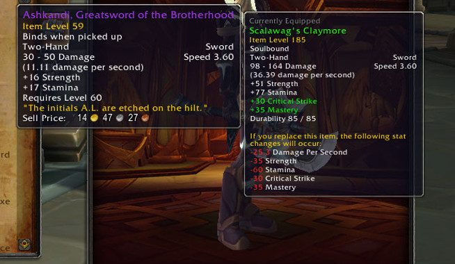 How Battle for Azeroth is changing gear