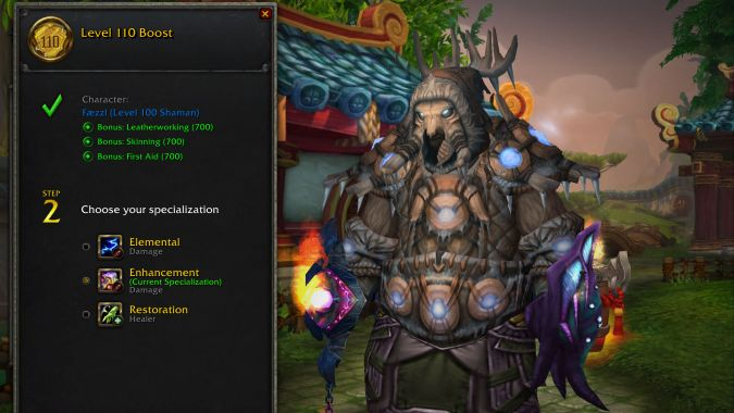 Everything you need to know about level boosting a character in WoW