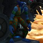 Griftah is back in Battle for Azeroth, and now he has a toy