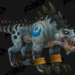 Zandalari Druids feral form is decidedly therapsidian