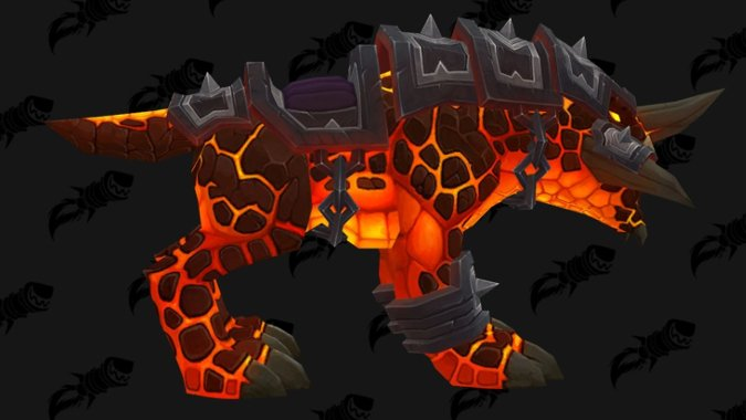 Dark Iron Dwarves Get A One Headed Core Hounds As Their Racial Mount
