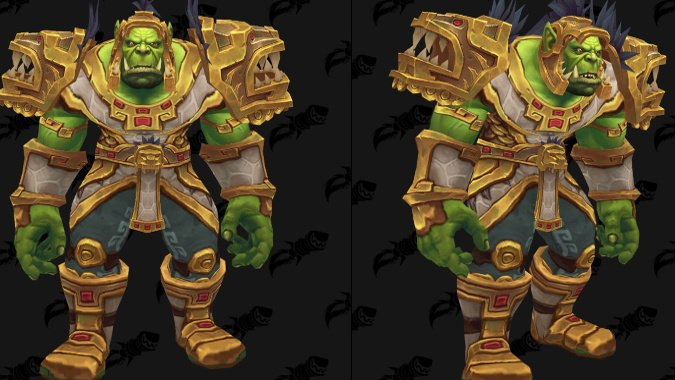Newly datamined Battle for Azeroth gear brings your pirate-transmog