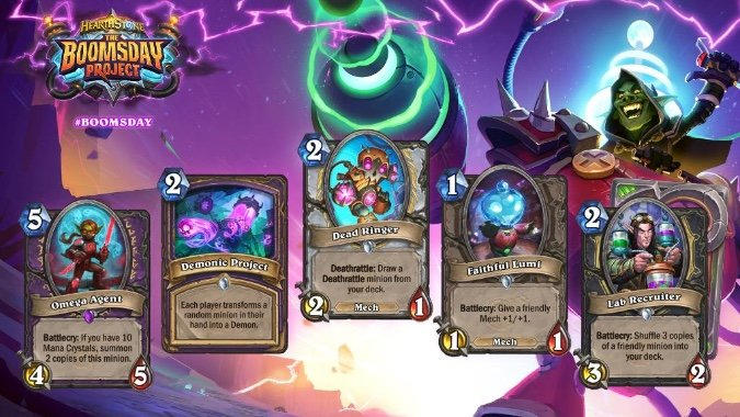 A highly scientific list of absolutely every Hearthstone