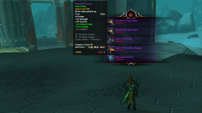 Transmog gear from LFR Dragon Soul is much easier to farm thanks to