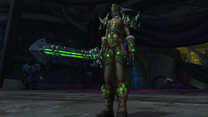 The Queue: It's surprisingly hard to find green tinted plate armor