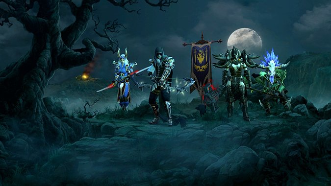 Sorry, but you can't move your Diablo 3 characters between