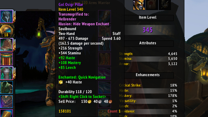 The complexities of gearing in Battle for Azeroth