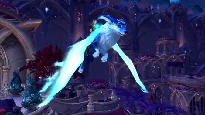 New Vulpine Familiar mount available from Blizzard store
