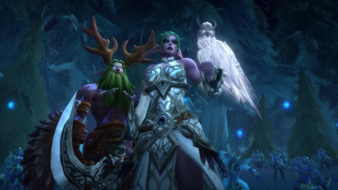 Know Your Lore: Elune, the Night Warrior, and the Void