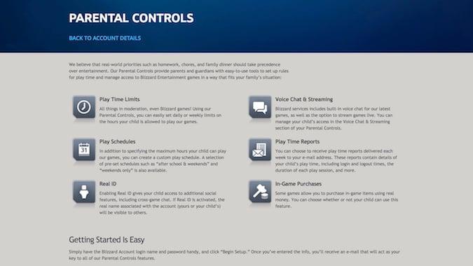 Blizzard's parental controls can't disable WoW voice chat
