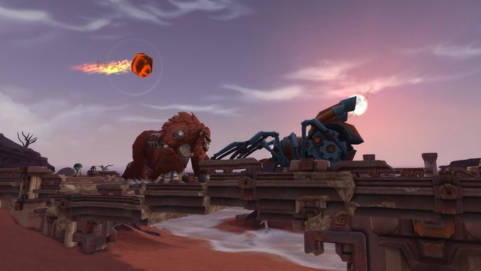 The Invasion of Vol'dun hides a pair of secret robot battle pets