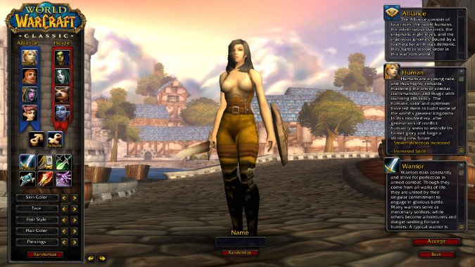 What race should you play in WoW Classic?