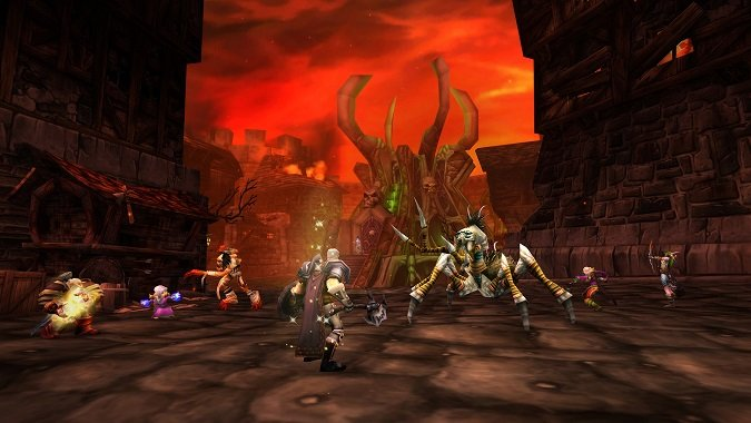 Which of the original dungeons are you most looking forward to in WoW...