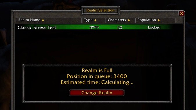 All subscribers will be invited to the next WoW Classic beta stress...