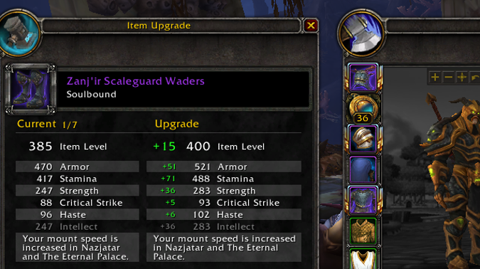 Benthic gear: How do you upgrade it, and how do you get it in the