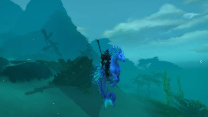 How to get the fabulous Fabious the Tidestallion mount