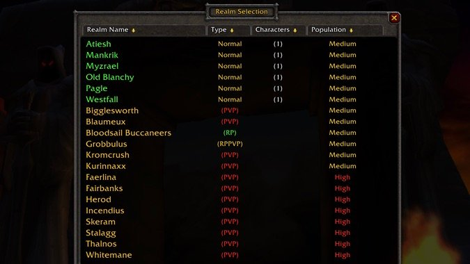 How to create your character in WoW Classic