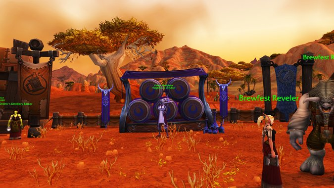 Brewfest is back with a new hearthstone, hats, lots more booze -- and some fun...