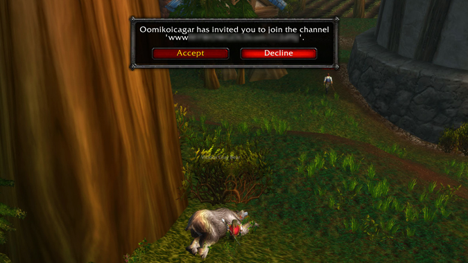 Gold sellers using Battle net channels to sell gold in WoW