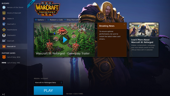 Where S Your Warcraft 3 Reforged Beta Access Check The Battle Net