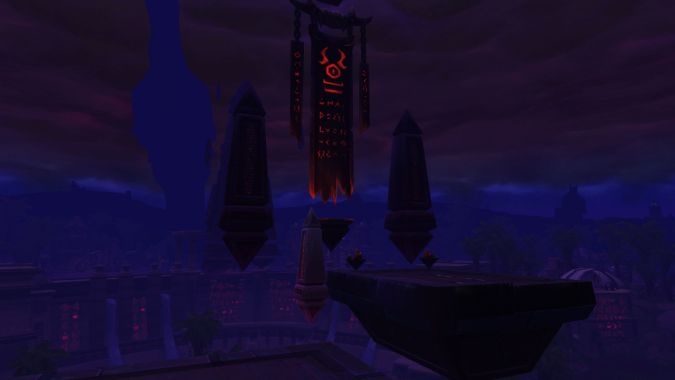 Gallery: Uldum as it appears during an Old God Assault in WoW patch 8.3