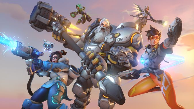 The Overwatch 2 Team Absolutely Has Plans To Do Something Like Break Reinhardt S Hammer In Half But It Won T Affect Pvp
