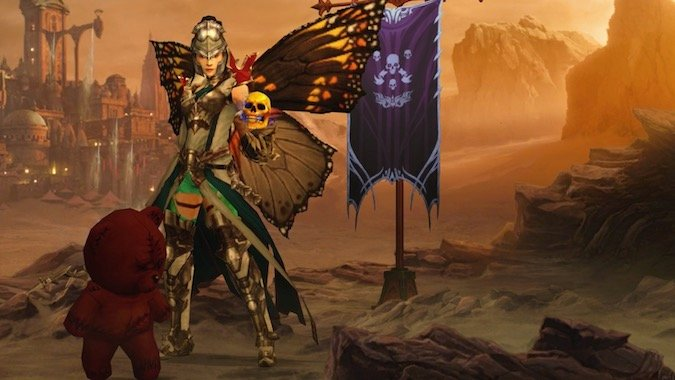 How To Get The Creepy Diablo Anniversary Wings And A Host Of Other Cosmetic Wings In Diablo 3