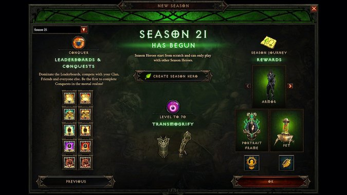 Everything You Need To Do To Prep For A New Diablo 3 Season